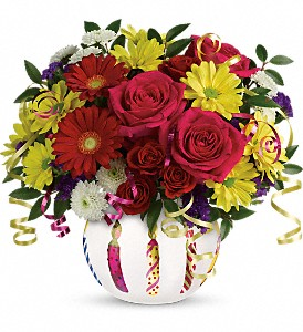 Teleflora's Special Celebration Bouquet in Grand Prairie TX, Deb's Flowers, Baskets & Stuff
