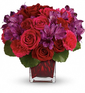 Teleflora's Take My Hand Bouquet in Rockaway NJ, Marilyn's Flower Shoppe