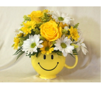 Smiley Face Mug in Hollidaysburg PA, Warner's Florist Gifts & Greenhouse
