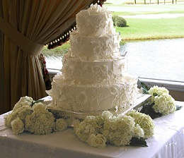 Wedding Cake in Stuart FL, Harbour Bay Florist