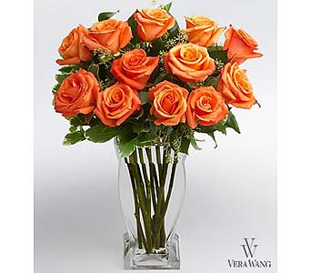 Orange Unique Roses in San Antonio TX, Allen's Flowers & Gifts