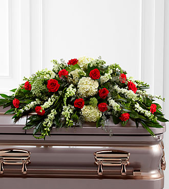 The Sincerity Casket Spray in Clearwater FL, Hassell Florist