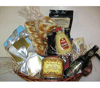 Snack Basket with Philadelphia Favorites in Blue Bell PA, Country Flower Shoppe