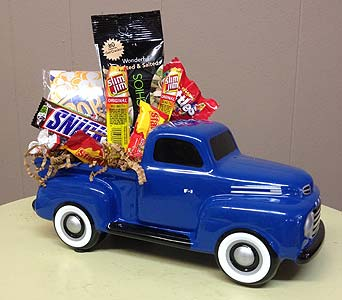 Ford Pickup with Goodies in Creedmoor NC, Gil-Man Florist Inc.