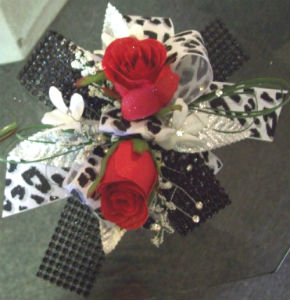 Red Rose/Leopard  in Farmington CT, Haworth's Flowers & Gifts, LLC.