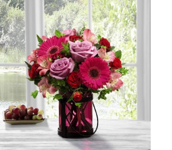 FTD� Pink Exuberance Bouquet by Better H & G in Bristol TN, Pippin Florist