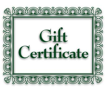 Gift Certificate in Lacey WA, Olympic Flower Market