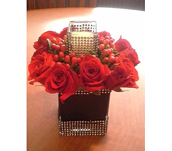 Red Glam in Fairless Hills PA, Flowers By Jennie-Lynne