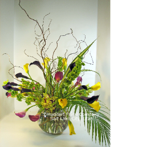 Huddart Calla Lilies and Orchids Bouquet in Salt Lake City UT, Huddart Floral