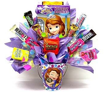 CB302 ''Sofia the First'' Candy Bouquet in Oklahoma City OK, Array of Flowers & Gifts