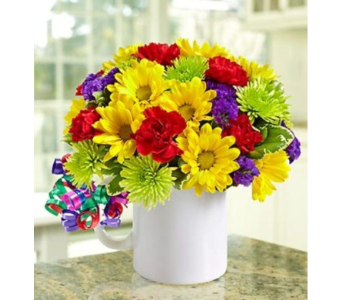 It's Your Day Bouquet® - Mugable® dans Watertown CT, Agnew Florist