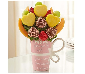 Fruit Filled Mug for Mom in Richmond MI, Richmond Flower Shop