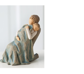The Quilt - Willow Tree Figurine in Metairie LA, Nosegay's Bouquet Boutique