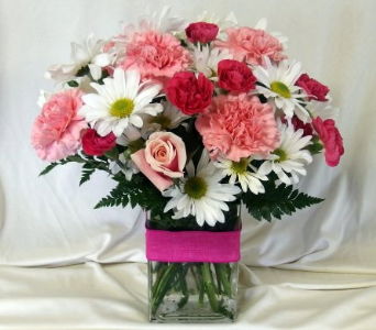 Pretty Pink Bouquet in Hollidaysburg PA, Warner's Florist Gifts & Greenhouse