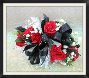 Red Rose Corsage in Tyler TX, The Flower Box