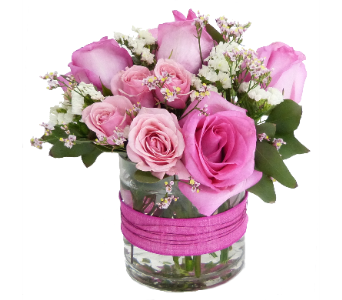 Pink Posies in Silver Spring MD, Bell Flowers, Inc