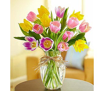 Timeless Tulips 15 Stems in Palm Desert CA, Milan's Flowers & Gifts