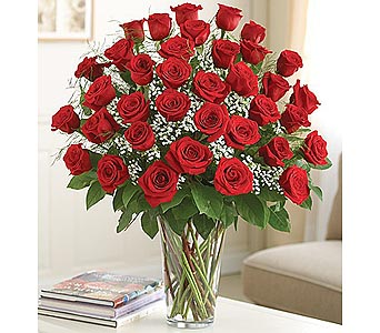 Long Stem Red Roses 36 Stems in Palm Desert CA, Milan's Flowers & Gifts