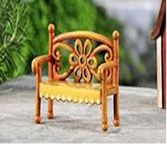MINI WORLD GARDEN COUNTRY BENCH DECOR in Guelph ON, Patti's Flower Boutique