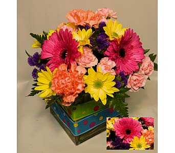 COLOURBURST CARNIVAL MIX in Truro NS, Jean's Flowers And Gifts