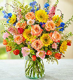Spring Sensation in Round Rock TX, Heart & Home Flowers