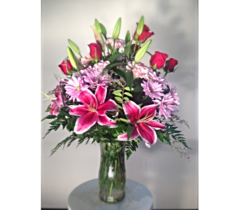 Filer's With Love Mixed Vase Bouquet in Cleveland OH, Filer's Florist Greater Cleveland Flower Co.