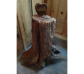 Tree Trunk Card Box in Loudonville OH, Four Seasons Flowers & Gifts