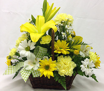 SUNNY DELIGHT BASKET in Titusville FL, Floral Creations By Dawn