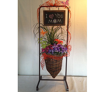 Blooming Planter - Chalk Board in Crafton PA, Sisters Floral Designs