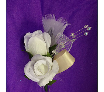 Silk Boutonniere in Portsmouth OH, Kirby's Flowers