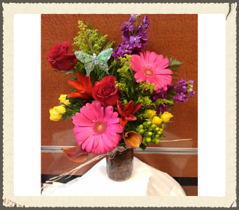 MASON JAR DELIGHT in Bellmore NY, Petite Florist
