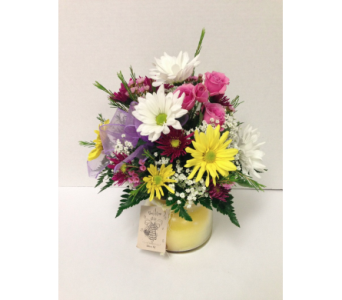 Candle Glow Bouquet in Metropolis IL, Creations The Florist