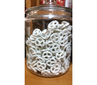 Gourmet White Chocolate Pretzels in De Funiak Springs FL, Mcleans Florist & Gifts