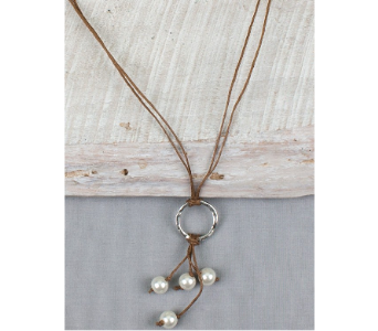 Rustic Cord and Pearl Jewelry in De Funiak Springs FL, Mcleans Florist & Gifts