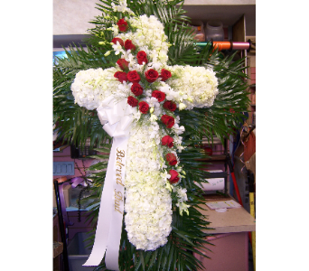 Traditional Standing Cross in Port Chester NY, Port Chester Florist