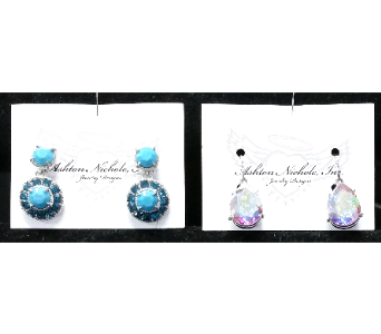 Ashton Nichole Earrings in De Funiak Springs FL, Mcleans Florist & Gifts