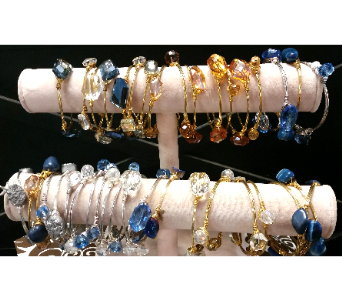 Stone and Wire Bracelets in De Funiak Springs FL, Mcleans Florist & Gifts
