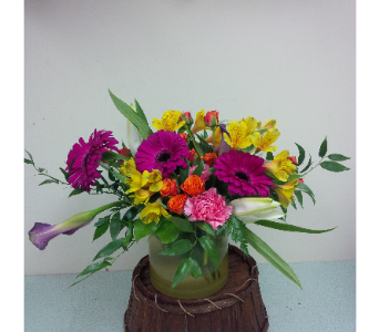 Rainbow Garen Bouquet in Ottawa ON, Glas' Florist Ltd.