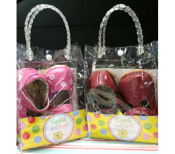 Squeak Me Shoes in De Funiak Springs FL, Mcleans Florist & Gifts