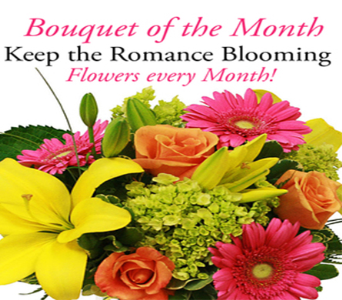 Bouquet of the Month $55.00 in Indianapolis IN, George Thomas Florist