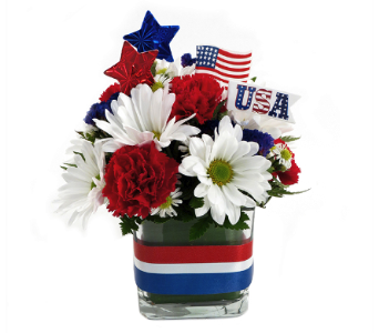 Salute to the USA Bouquet in Southfield MI, Thrifty Florist