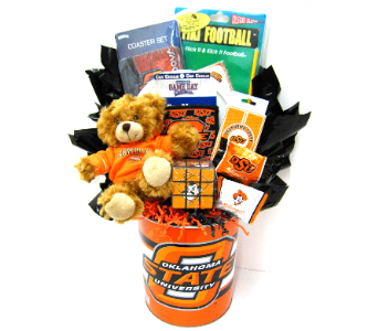 OSU50 Cowboy Pride Gift Bouquet in Oklahoma City OK, Array of Flowers & Gifts