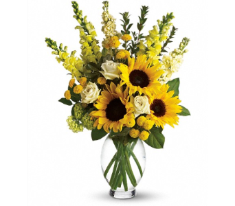 Here Comes The Sun in Amherst NY, The Trillium's Courtyard Florist
