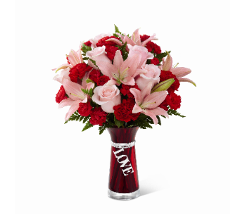 The FTD Hold My Heart Bouquet in Los Angeles CA, South-East Flowers