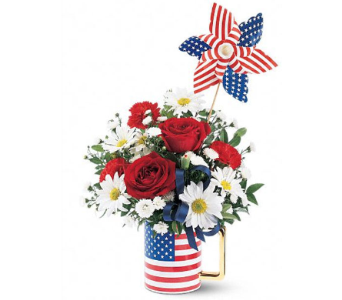 Spirit of America in Belford NJ, Flower Power Florist & Gifts
