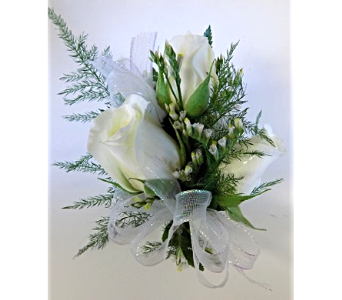 3 Rose Corsage in Timmins ON, Timmins Flower Shop Inc.