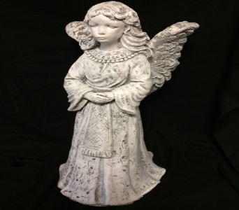 Standing Angel with Wing Bowl in Amelia OH, Amelia Florist Wine & Gift Shop
