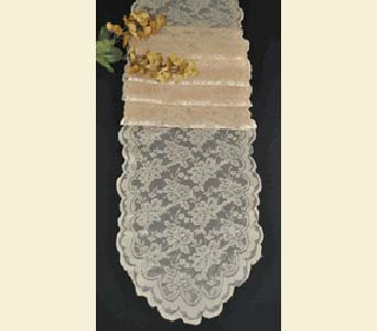 Champagne Lace Runner in Loudonville OH, Four Seasons Flowers & Gifts