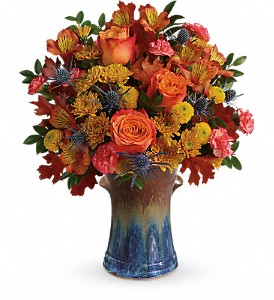 Teleflora's Classic Autumn Bouquet in Morgantown PA, The Greenery Of Morgantown
