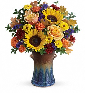Teleflora's Country Sunflowers Bouquet in Meadville PA, Cobblestone Cottage and Gardens LLC